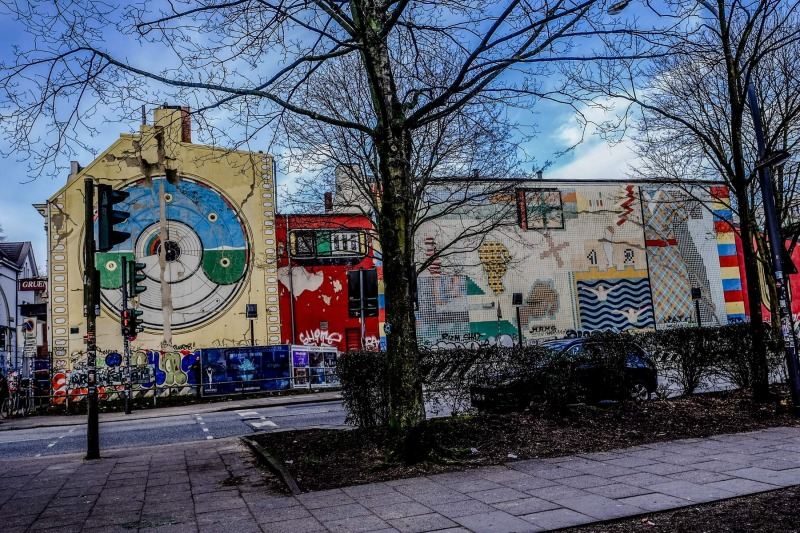 Grünspan-Graffiti
