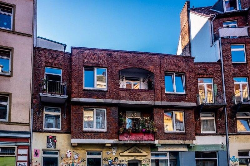 Klinkerhaus in der Brunnenstraße