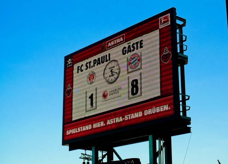 Legendär - Das Endergebnis des Spiels gegen den FC Bayern
