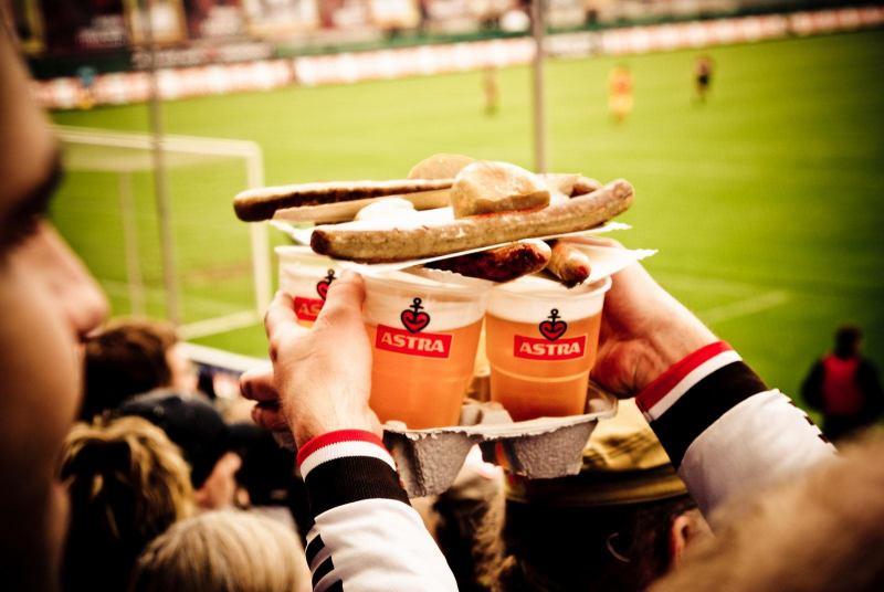 Stadiongedeck - Bierwurst