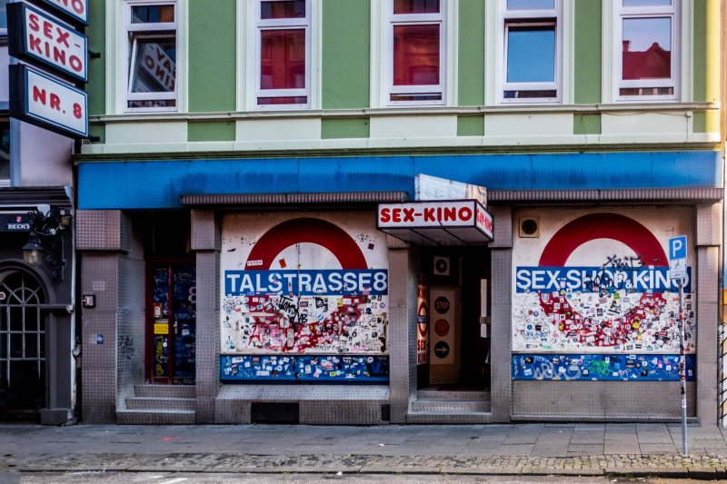 Sex-Kino in der Talstrasse