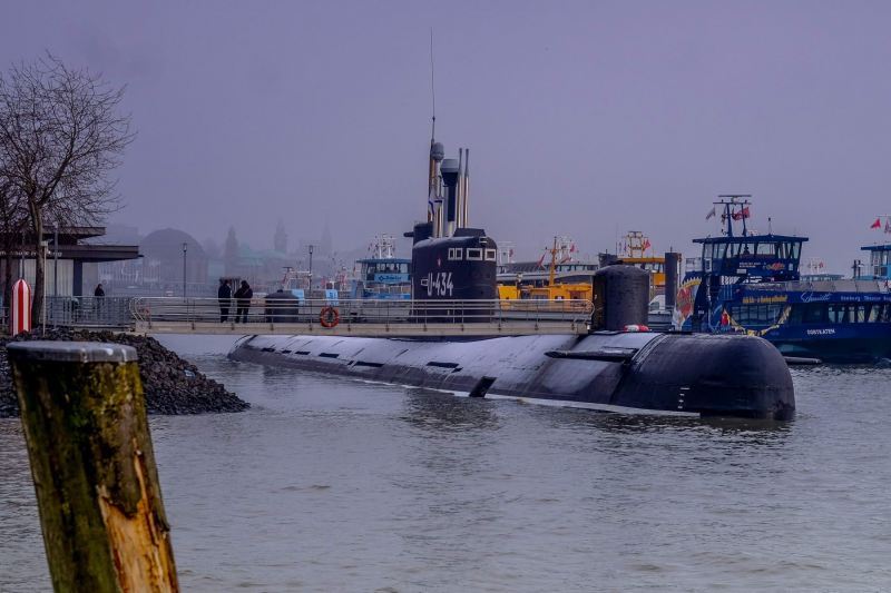 U-Boot  U-434 im Winter
