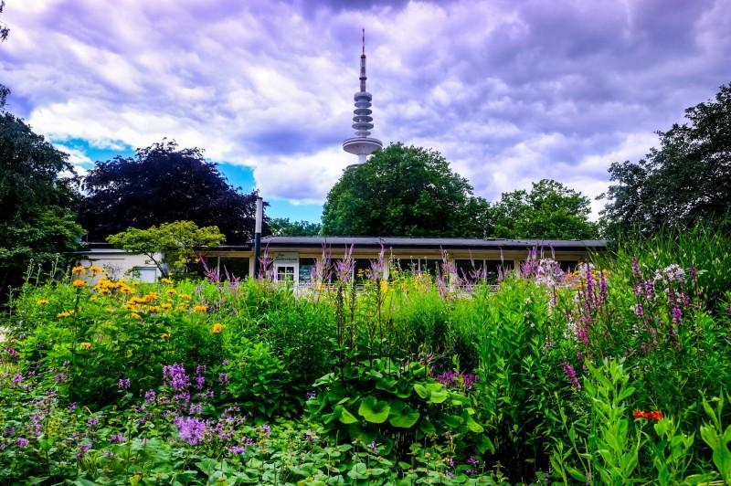Cafe Seeterassen  in Planten un Blomen